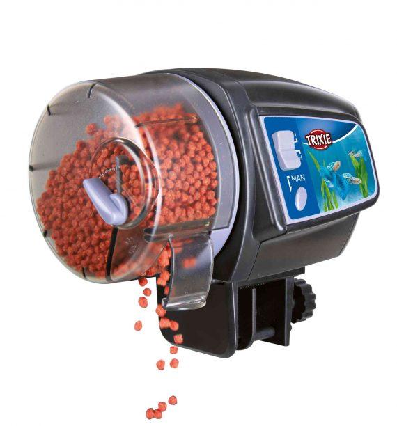 Voederautomaat voor aquarium