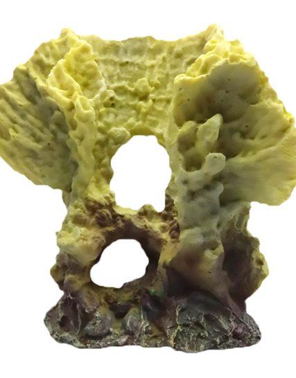 Decoratie koraal geel