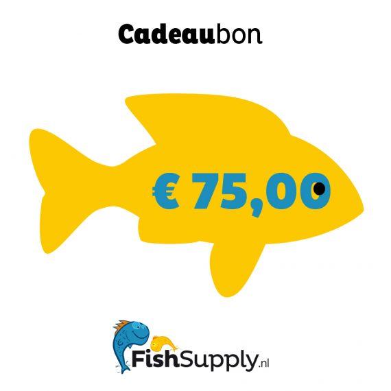 Waardebon ad € 75,00