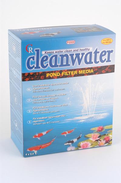 Cleanwater P2000 vijver filter 1000 - 2000 liter