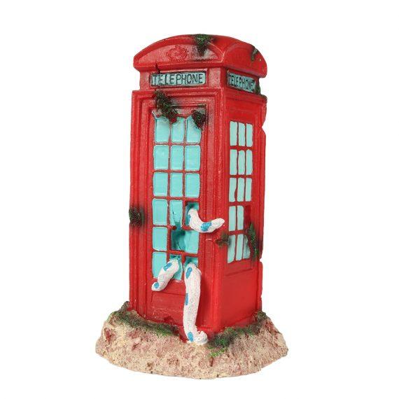 rode telefooncel voor aquarium