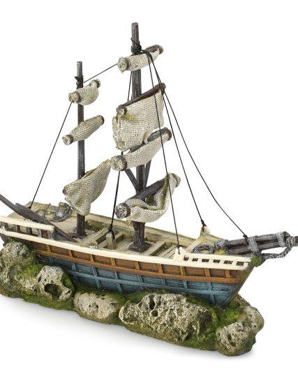 Zeilboot voor aquarium